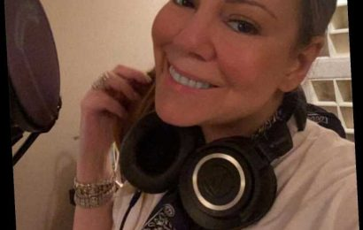 Mariah Carey Kicks Off Her 50th Birthday Celebrations by Recording a New Song