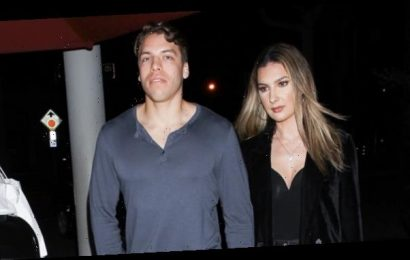 Joseph Baena's Ripped Muscles Show Through Tight Shirt As He Holds Hands With GF On Date Night