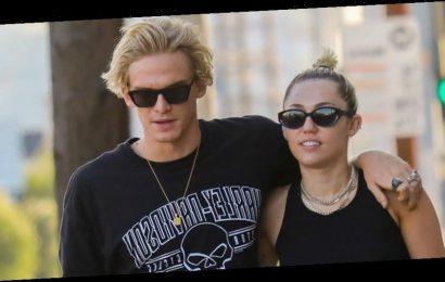 Miley Cyrus & Cody Simpson Adopt New Puppy During Quarantine