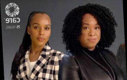 Scandal Stars Reunite for International Women's Day Message