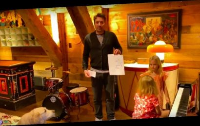 Watch Jimmy Fallon's Two Daughters Serve as 'The Tonight Show' Band