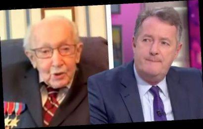 Piers Morgan gives away £10k to WW2 veteran's NHS coronavirus fundraiser 'What a hero!'
