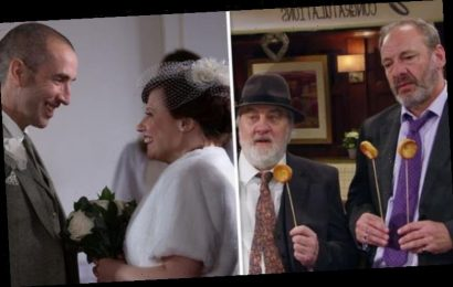 Emmerdale fans baffled by Sam Dingle and Lydia's wedding feature 'Never seen that before'