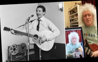 Queen's Brian May praises fans for 'UNANIMOUS appreciation' of Lonnie Donegan cover WATCH