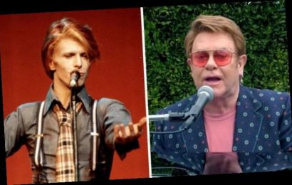 David Bowie feud: What happened between Elton John and David Bowie? 'We were NOT friends'