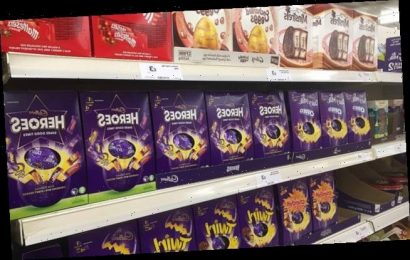Revealed! Supermarket rules for buying Easter eggs