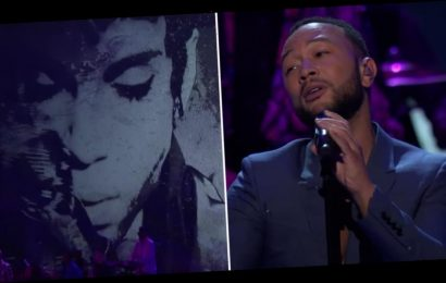 Nothing Compares to John Legend's Soulful Performance During the Prince Tribute