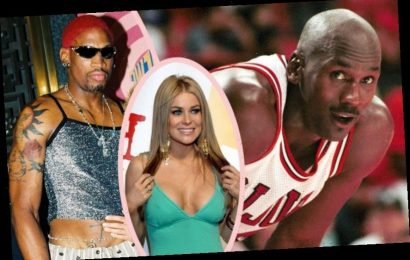 Carmen Electra Hiding From Michael Jordan Is The Most Dennis Rodman Story You Will Ever Hear!