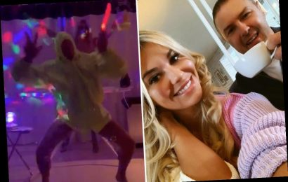 Christine and Paddy McGuinness turn their home into a RAVE for a Saturday night boogie – The Sun