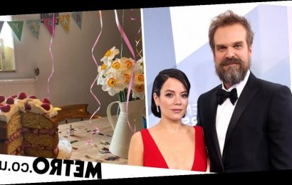 Lily Allen puts on cute isolation birthday party for David Harbour in lockdown