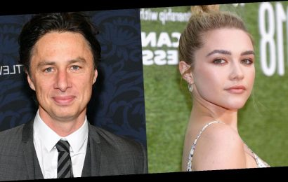 Florence Pugh Responds to Criticism of Her 21-Year Age Gap with Zach Braff