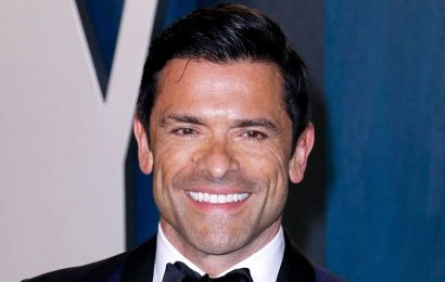 Kelly Ripa Shares Uncanny Lookalike Picture of Mark Consuelos & His Dad