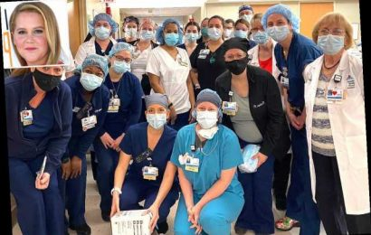 Amy Schumer Donates 2,500 Masks to Hospital Where Her Best Friend Works—Watch Their Touching Video Chat