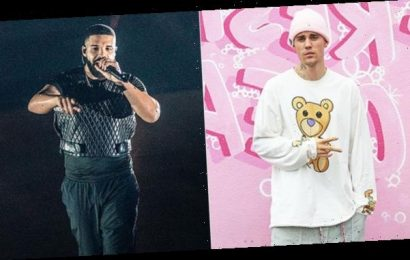 Justin Bieber Joins Canadian Stars To Sing 'Lean On Me' For COVID-19 Relief & Fans Ask 'Where's Drake?'