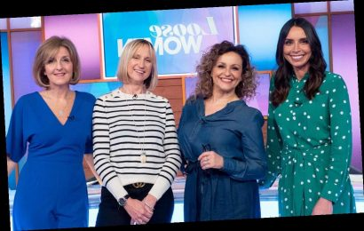 Loose Women to air one-off special on Thursday from panellist's homes to mark NHS day