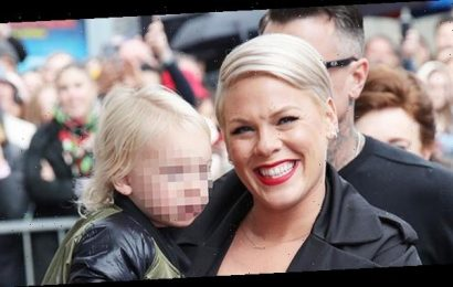 Pink Tears Up After Confirming Son Jameson, 3, Is Now 'Without Fever' After Having Coronavirus