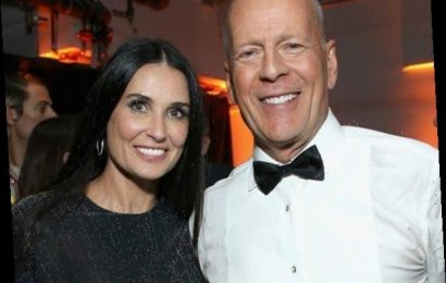 Exes Demi Moore and Bruce Willis Continue to Social Distance Together