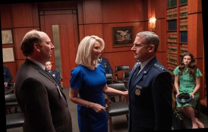 First look at Lisa Kudrow and Steve Carell in new Netflix comedy Space Force