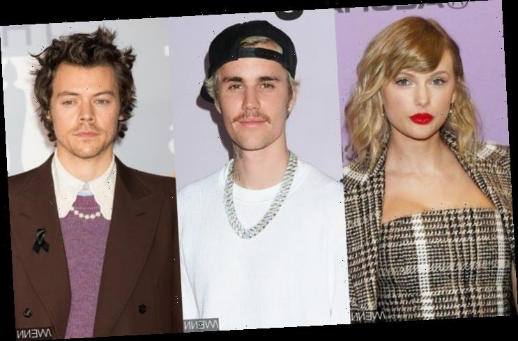 Taylor Swift Plays Songs by Justin Bieber and Harry Styles as She Channels Her Inner DJ