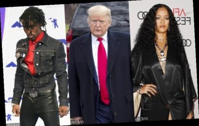 Rihanna Disses Donald Trump Over His Handling of Coronavirus During Dance-Off With Lil Uzi Vert