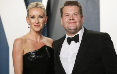 James Corden takes a break from his talk show after eye-op