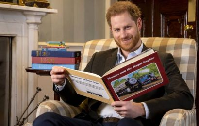 Prince Harry records message for Thomas the Tank Engine 75th anniversary special