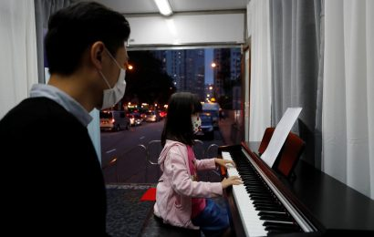 Hong Kong music school keeps on trucking through coronavirus shutdown