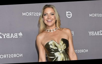 Kate Hudson Is Moved to Tears by Her Birthday Social Distancing Parade