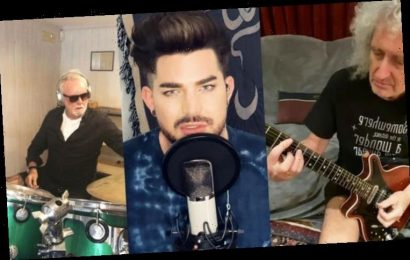 Queen and Adam Lambert charity single You Are The Champions tops chart in THIS country