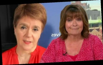 Lorraine Kelly leaves viewers furious over Nicola Sturgeon interview: 'Bring back Ruth'