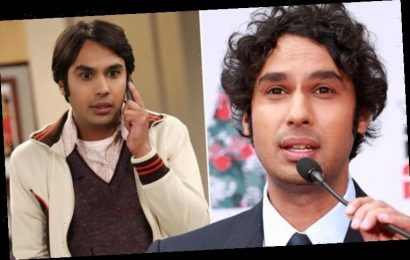 Big Bang Theory star Kunal Nayyar stuns fans with surprise announcement 'I say adieu!'
