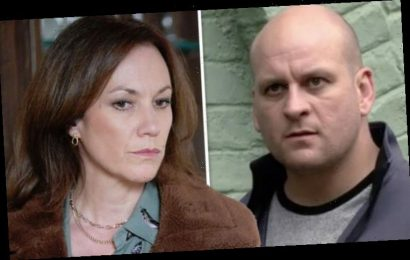 EastEnders spoilers: Stuart Highway's mum arrives with bombshell at Rainie's wedding?