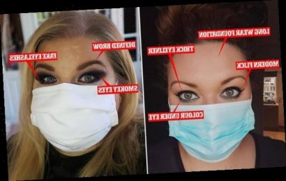 FEMAIL reveals best ways to showcase your makeup when wearing masks