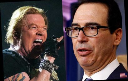 Axl Rose Sparks Twitter Feud With Treasury Secretary Steven Mnuchin