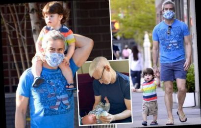 Andy Cohen takes son Ben, 1, on a walk after best friend Anderson Cooper welcomes baby – The Sun