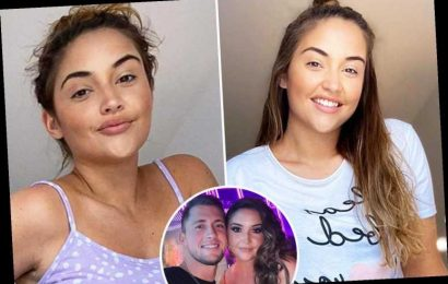 Jacqueline Jossa smiles through promo videos as she gets back to work amid Dan Osborne marriage woes – The Sun