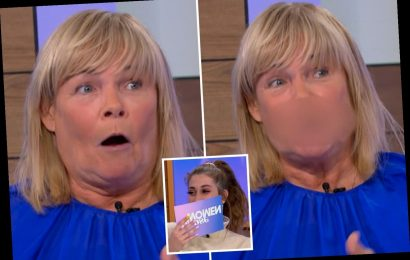 Loose Women's Linda Robson freezes in horror after swearing live on the show – The Sun