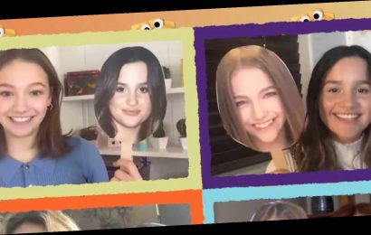 Annie LeBlanc & Jayden Bartels Pick Yearbook Superlatives in 'Group Chat' Exclusive Clip!