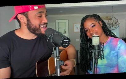 """This Acoustic """"Stuck With U"""" Cover Isn't Just Beautiful, It's Adorably Romantic to Watch"""