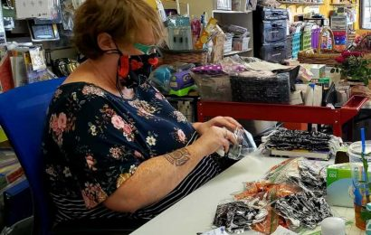 Longmont craft store Hidden Treasure 2 launches army of mask-makers