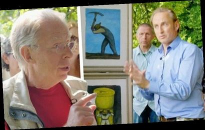Antiques Roadshow guest refuses experts £100k painting valuation 'You can't have them!'
