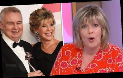 Ruth Langsford addresses Eamonn Holmes 'split' as co-star grills host on marriage