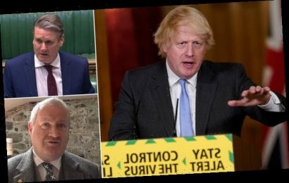 HENRY DEEDES watches Boris Johnson tell Parliament the nation is open