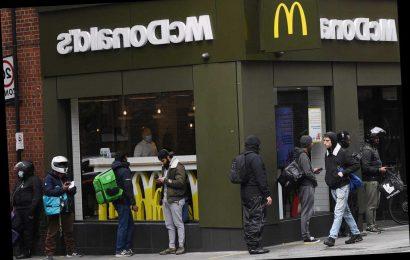 McDonald's to reopen 250 restaurants for walk-in orders next Wednesday – The Sun