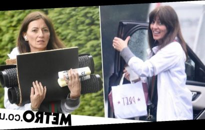Davina McCall gets hands-on with moving house ahead of Big Brother return