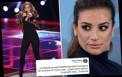 Disney star Jordan Pruitt claims everyone knows Lea Michele 'is a horrible human being' and calls her a 'b***h' – The Sun