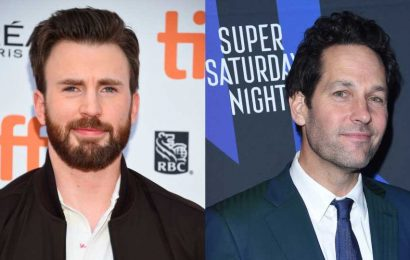 Chris Evans Asked Paul Rudd About His Penis Size & You'll Want to Hear the Answer