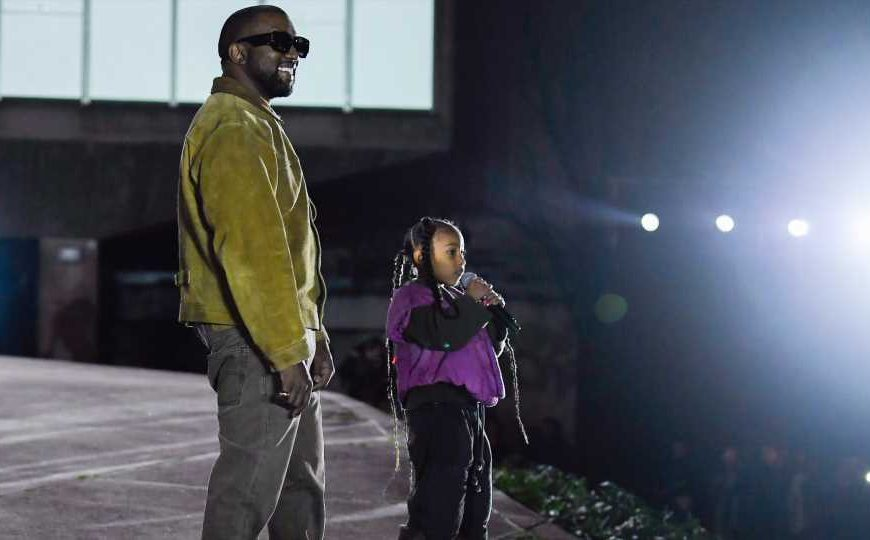 Watch North West in Kanye's New Music Video