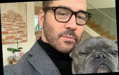 Jeremy Piven Reveals His Beloved Dog Bubba Died in His Arms Today