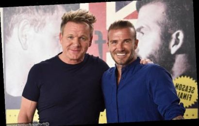 David Beckham Inspired by Gordon Ramsay to Do His Own Cooking Show